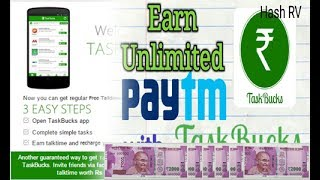 How To Earn Unlimited Paytm Cash From TaskBucks???-Tamil | Unlimited Free Rechages-Tamil