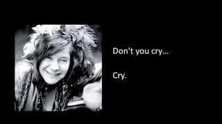 Janis Joplin- Summertime Lyrics