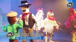 La Granja de Zenón llenó de familias el Teatro Coliseo Podestá