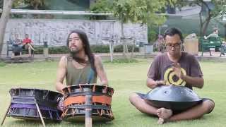 Jun Ototabi & On Honon : an improvise session at suansanti park, bkk, thailand