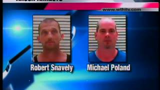 Two arrested for arson in Clark Co., IL