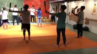 아산서원 12기 고대운동수업 인디언클럽 마무리운동