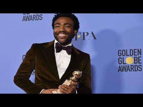 Donald Glover Golden Globes 2017 Full Backstage Speech