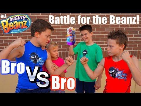 Bro Vs Bro Impossible Battle for Mighty Beanz Ninja Kidz TV