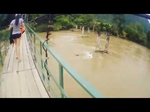 Crazy day ; Vangvieng,Laos( เก็บไว้ดูเล่น) 10:10:2016