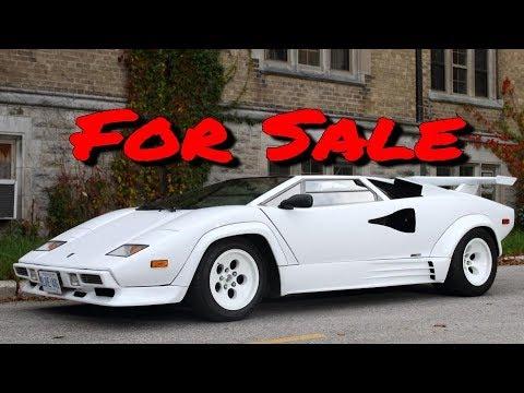 Lamborghini Countach replica For Sale