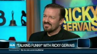 HLN: Ricky Gervais 'Larry David is a genius'