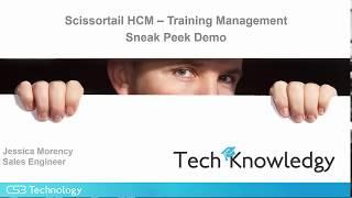 Scissortail HCM Training Management
