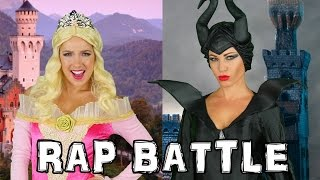 Rap Battle Aurora vs Maleficent. Family Friendly from DisneyToysFan