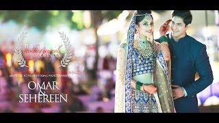 ROYAL MUSLIM INDIAN WEDDING HIGHLIGHT FILM | OMAR & SEHEREEN | TWJOI