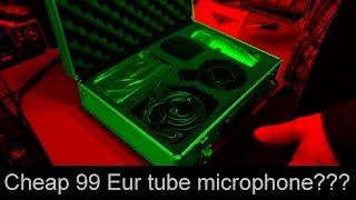 Cheap 99 Eur tube microphone - JustMusic.de - Behringer T1 teardown