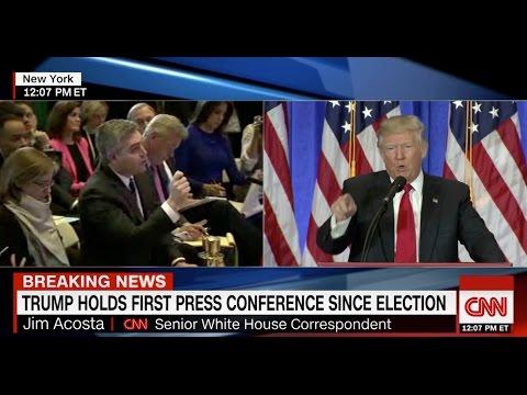 Trump Calls CNN