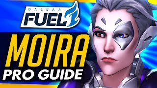 Overwatch | PRO MOIRA GUIDE ft Dallas Fuel CUSTAA