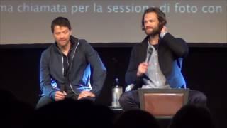 Jared and Misha Sunday Panel (Part 2) Jibcon 2016