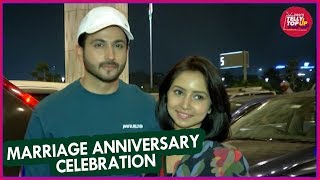 Dheeraj & Vini Depart For Their First Marriage Anniversary Celebration