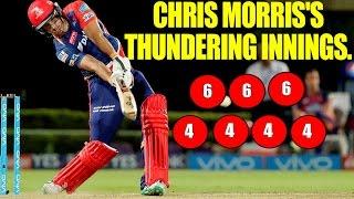IPL 10: Chris Morris thunders with his 9 balls 38 runs vs Pune | Oneindia News