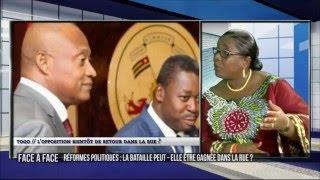 Face à Face sur les réformes avec Me Isabelle AMEGANVI et André Kangni AFANOU