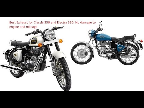 Xxx Mp4 Best Exhaust Silencer For RE Classic 350 Electra 350 No Damage To Engine Mileage Click On Link 3gp Sex