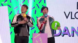 Dan And Phil - Win Best Vlogger (Teen Awards 2016)