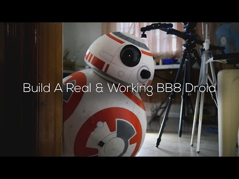 Build A Life-Size Phone Controlled BB8 Droid (Full-DIY-Tutorial)