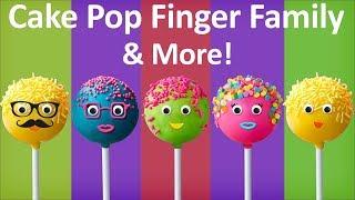 Cake Pop Finger Family Collection The Finger Family Cake Pop Family Nursery Rhymes for kids