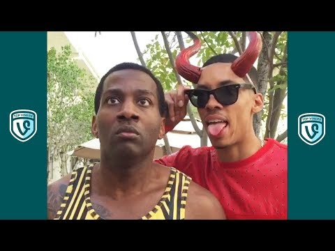 TRY NOT TO LAUGH Challenge Funniest DeStorm Vines and Instagram Compilation w KingBach Liane V