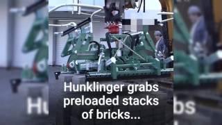 Latest Technology 2017 Hunklinger Brick Machine Fast Lay Brick Machine #ARJ