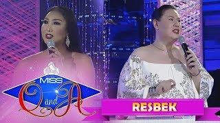 It's Showtime Miss Q & A Resbek: Khei Perlaoan vs. Samantha Tan | Di Ba? Teh! Part 1