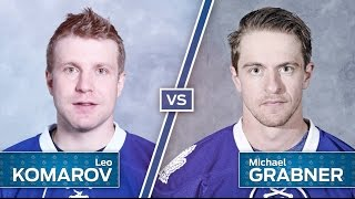 Komarov vs. Grabner In The Ultimate Trick Shot Challenge