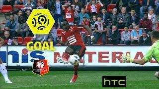 Goal Firmin MUBELE (80') / Stade Rennais FC - Montpellier Hérault SC (1-0)/ 2016-17