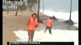 Lagos Ocean Surge Alert: Government orders residents to vacate Coastline