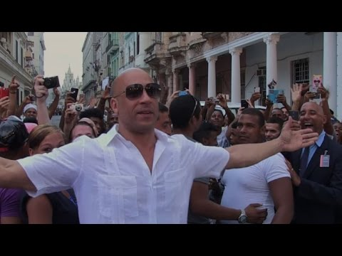 Xxx Mp4 Cubans Welcome US Star Vin Diesel To Havana 3gp Sex
