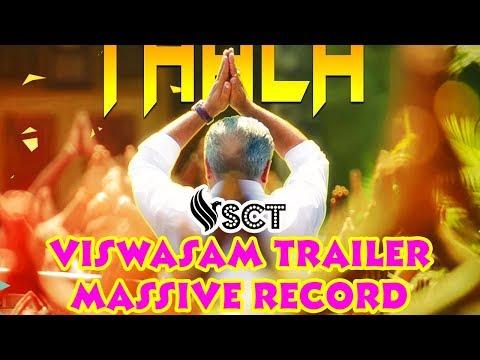 VISWASAM First Tamil Trailer Reach 1M Likes | Failed To Beat SARKAR Record?