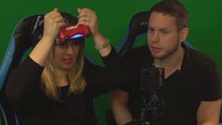 Girlfriend plays NBA 2K18 Challenge