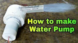 How to make Water Pump || घर पर वाटर पंप कैसे बनाएं⛲️