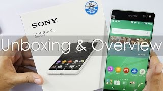 Sony Xperia C5 Ultra Dual Unboxing & Overview