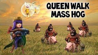 Best Strategy for Offset AQ! Queen Walk - Mass Hog (TH9)
