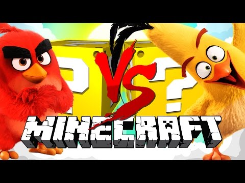 Minecraft ANGRY BIRDS LUCKY BLOCK CHALLENGE THE BEST SUCKER