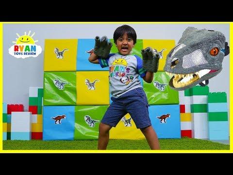 Giant Smash Surprise Jurassic World Dinosaurs Toys