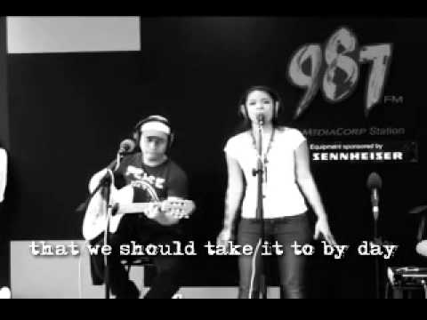 It's Raining - Sylvia Ratonel [Acoustic + Lyrics]