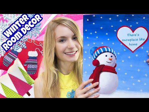 DIY ROOM DECOR! 10 DIY Projects for Winter & Christmas! Decorating ideas for a Frozen Room