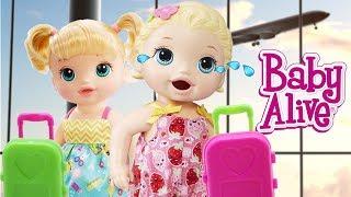Baby Alive Oyuncak Bebek Lily Gözyaşlarına Boğuldu Bavul KAYIP | Oyuncak Butiğim