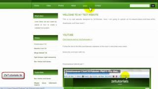DreamWeaver Tutorial CS5/CS4 - Part 2 - Videos & Embed