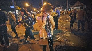 Dozens injured after truck smashes into New Orleans parade crowd