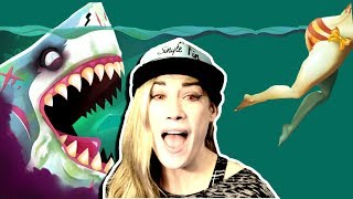 I LOVE EATING THE PEOPLE | PSYCHO GiRL, SHARKS,  and VENICE BEACH!