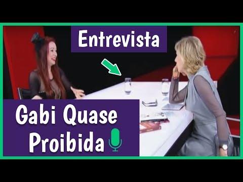 MARILIA GABRIELA ENTREVISTA VANESSA DE OLIVEIRA GABI QUASE PROIBIDA