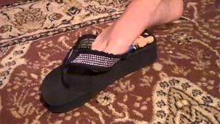 Giantess Tiffany Flip Flops