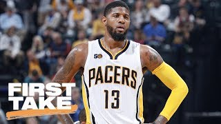 Should The Lakers Deal For Paul George Right Now? | First Take | June 21, 2017