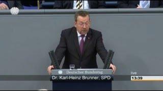 Rede von Karl-Heinz Brunner zur Kooperation mit der Türkei und Saudi-Arabien