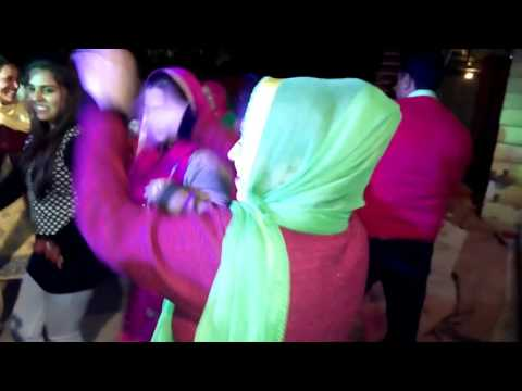 Himachal marriage dance..  Palampur